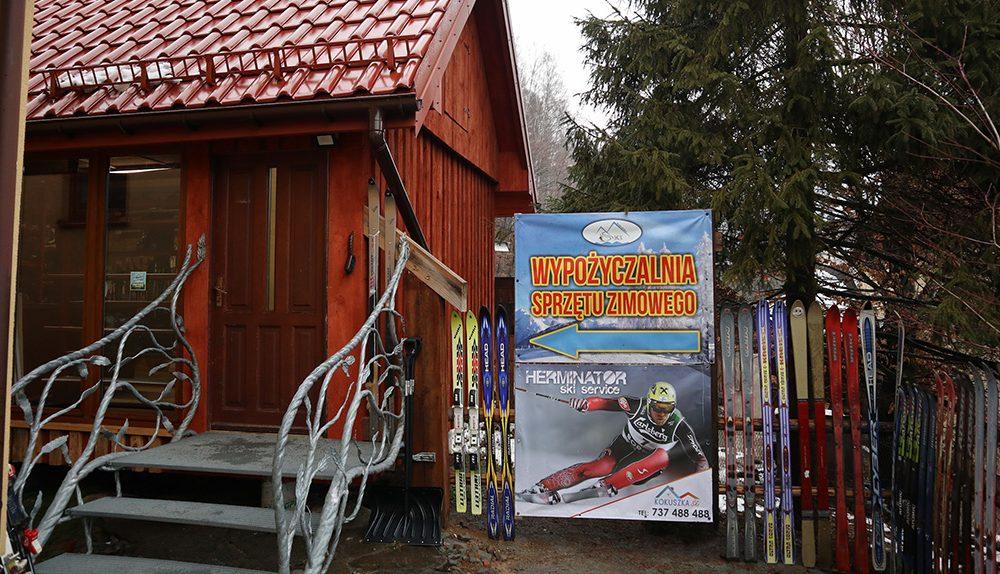 WYPOŻYCZALNIA - Kokuszka-Ski.pl - narty, snowboard, wyciąg, stok narciarski, noclegi, imprezy, kuchnia, Piwniczna, Rytro, Krynica, Żegiestów, Stary Sącz, Nowy Sącz